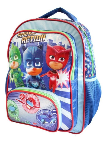 ruz -  panaderia pj masks mochila primaria infantil