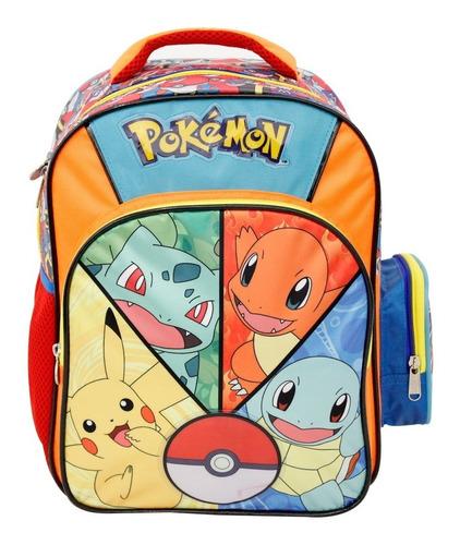 ruz -  the pokemon company pokemon mochila infantil kinder