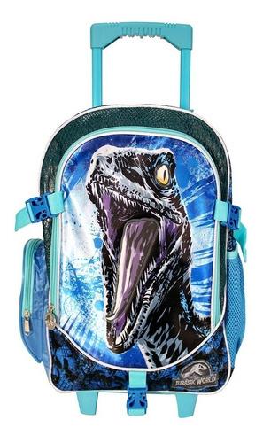ruz -  tycoon jurassic world 2 peli mochila primaria escolar