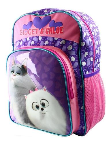 ruz -  tycoon pets 2 pelicula mochila infantil primaria