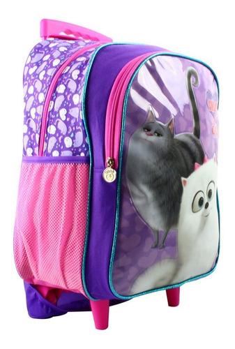 ruz -  tycoon pets 2 pelicula mochila primaria con ruedas