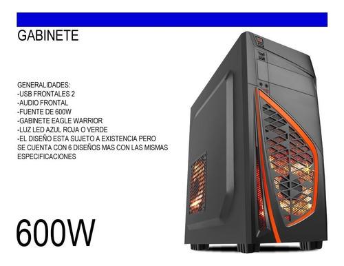 rv cpu gamer arquitectura nueva era i3 7100 ddr4 4gb 1tb 4k