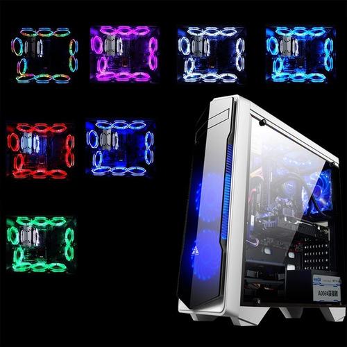 rva light ultra silencioso durable aluminio pc cpu cooler re