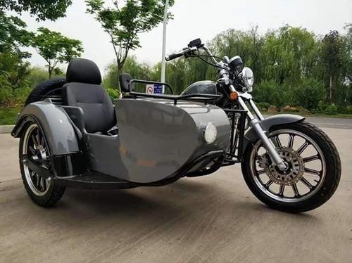 rvm jawa choppera 400-9 con sidecar   motozuni avellaneda