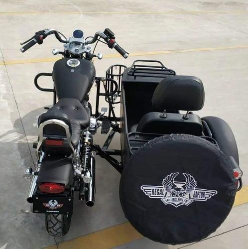rvm jawa choppera 400-9 con sidecar   motozuni m. grande