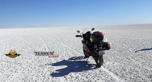 rvm tekken 250cc 3 baúles/parabrisas/cubre puños