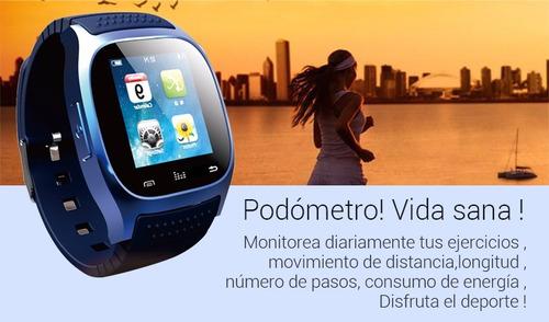 rwatch m26s reloj inteligente bluetooth 4.0