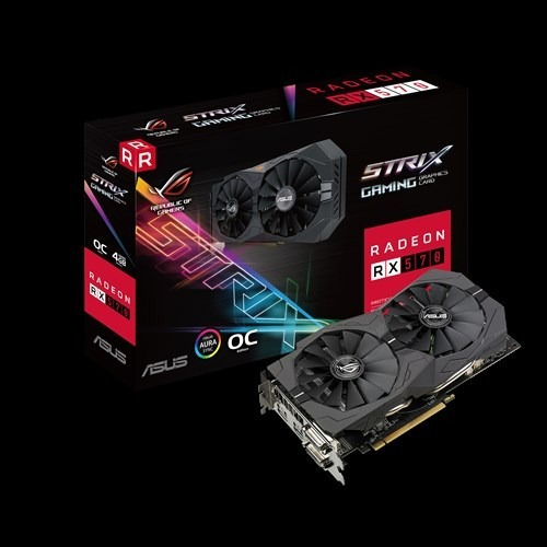 rx 570 4 gb asus strix