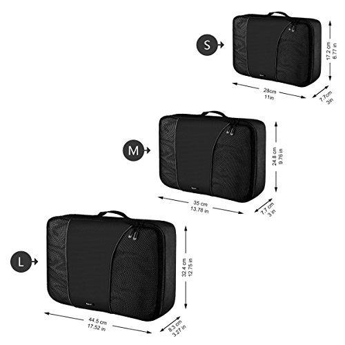 974ae1cae Ryaco Packing Cubes 3 Set Bolsas De Compresión... - $ 46.990 en ...
