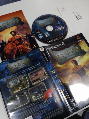 rygar: the legendary adventure original playstation 2 -