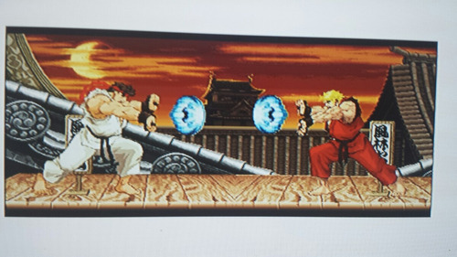 ryu street fighter taza cambia de color con agua caliente