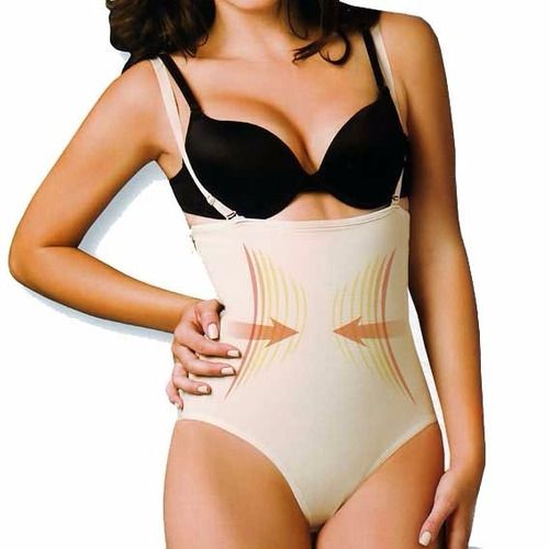 s- 123 body strapless con cierre reductor termico con latex
