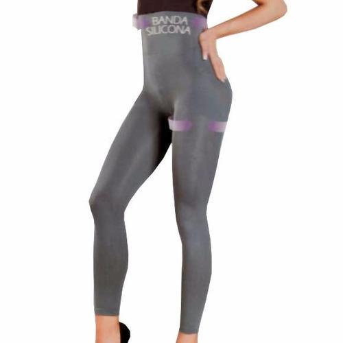 s- 146 leggings control levanta gluteos banda de silicona