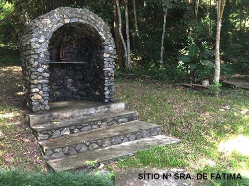 s-4172 sítio com 03 alqueires a 3 km do centro de guararema- sp - 2143