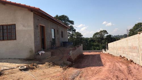 s. chácara com água e luz pronto para construir em ibiúna.