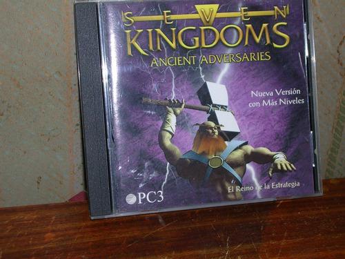 s e v e n kingdoms version completa  - juego para pc - 1998