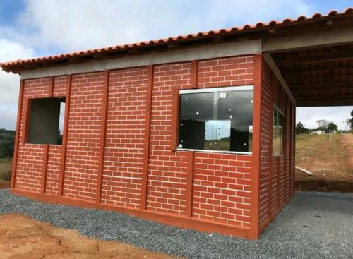 s lote de 1.000 m² no interior 100% plaino c/ portaria