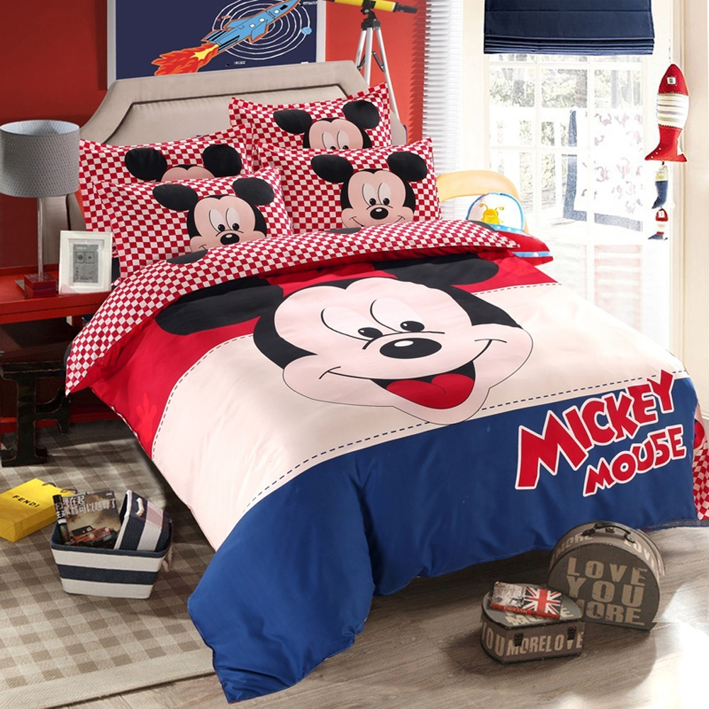 0fe860925f S Mickey Mouse Edredon 150x210+lençol160x230+fronha Disney - R  299 ...