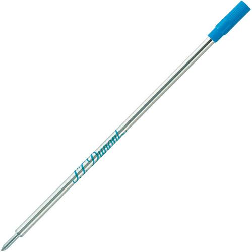 s. t. dupont repuesto medium azul bolígrafo diego vez