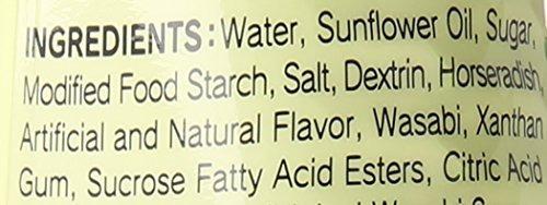 s y b salsa de wasabi 53 onzas