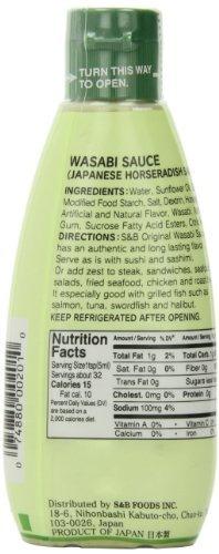 s  y  b wasabi salsa, 53ounce