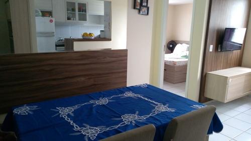 s0314 apartamento com 2 quartos para locação, 44 m²