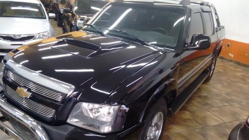 s10 2.4 executive cab. dupla 4x2 flexpower 4p 2011 preta