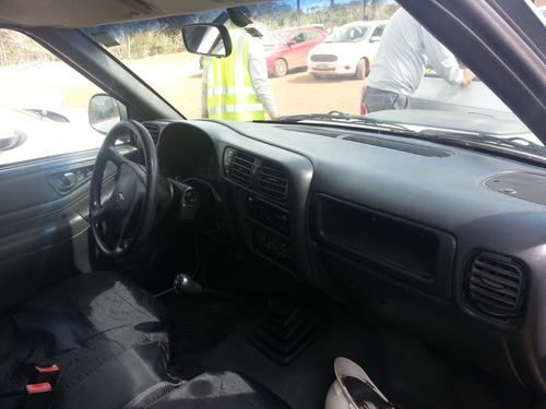 s10 cabine simples 2006 diesel 4x4 ambulância -