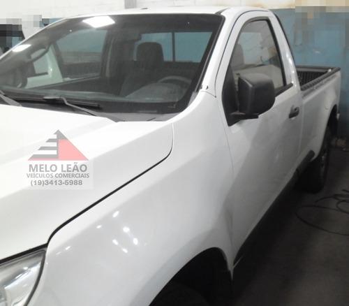 s10 ls 2.8 turbo diesel 4x4 - 16/17 - cabine simples, branca