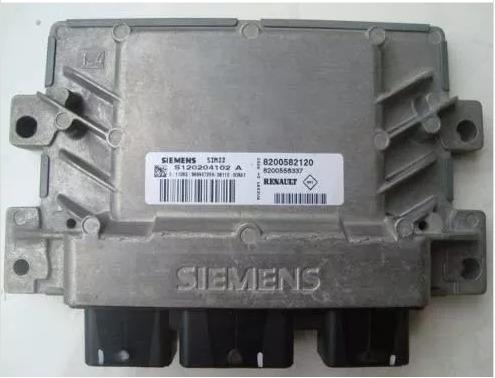 s120204102a -modulo injecao renault clio 1.0 16v orig s/cod