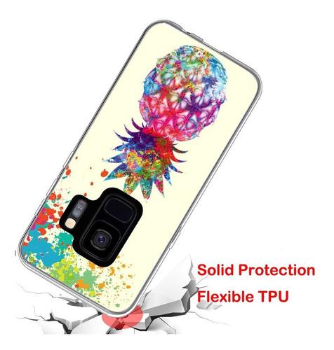s9 case diseño piña diseñador / iwone tpu no de resbalón