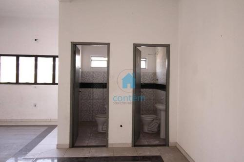 sa0030- ala para alugar, 180 m² por r$ 2.500/mês - km 18 - osasco/sp - sa0030