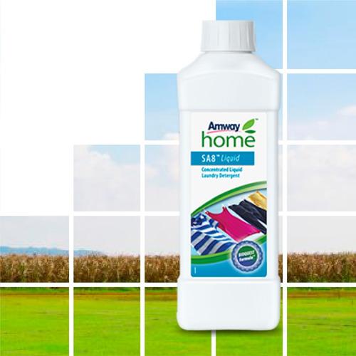 sa8 detergente líquido concentrado ecologico 1lt - amway