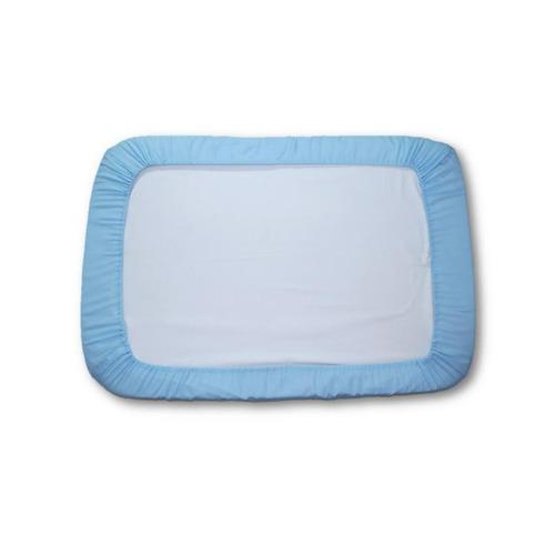 sábana ajustable pequeña m/m baby´store sa6-azul