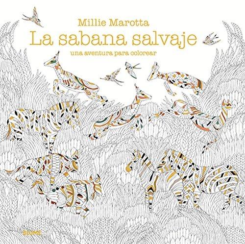 Sabana Salvaje: Una Aventura Para Colorear; Millie Marotta - $ 1.440 ...