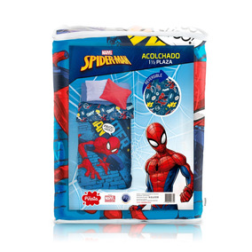 Funda Nordica Spiderman Carrefour.Sabana Y Acolchado Spiderman 1 Set Infantil Completo Orig