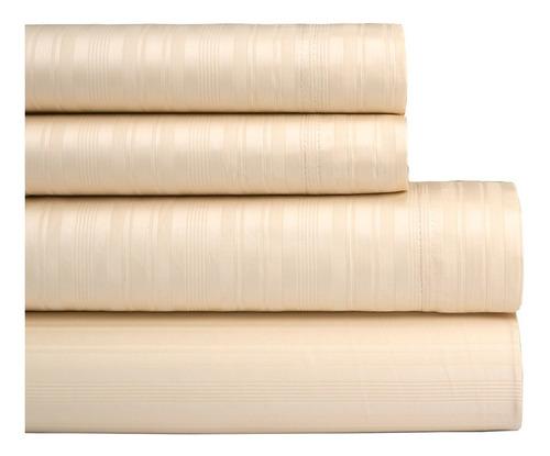 sabanas 2 1/2 danubio saten 300 hilos puro algodon
