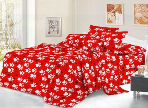 sabanas  2 unidades  cama doble huellas