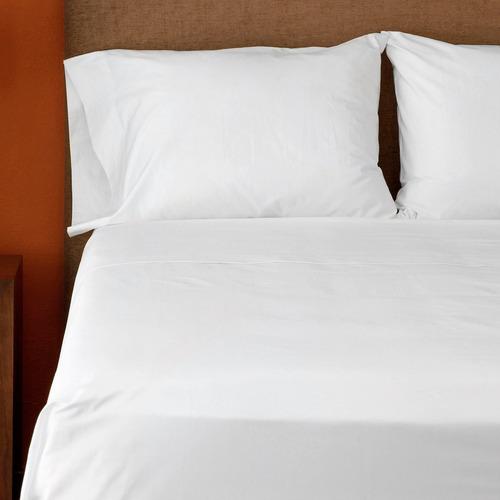 sábanas blanca matri 400 hilos 100% algodón hotel collection
