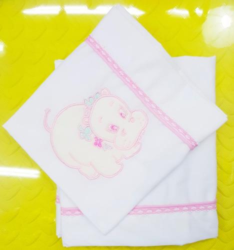 sabanas bordadas para cuna corral  bebe 3 piezas lenceria