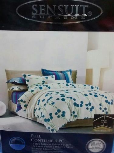 sabanas cama doble