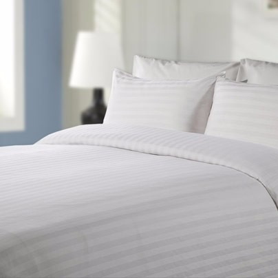 sabanas cama doble blancas 100% algodon 420 hilos importadas