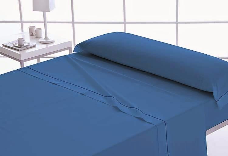 Sabanas coordinadas personalizadas tonos azules doble for Medidas de sabanas para cama doble