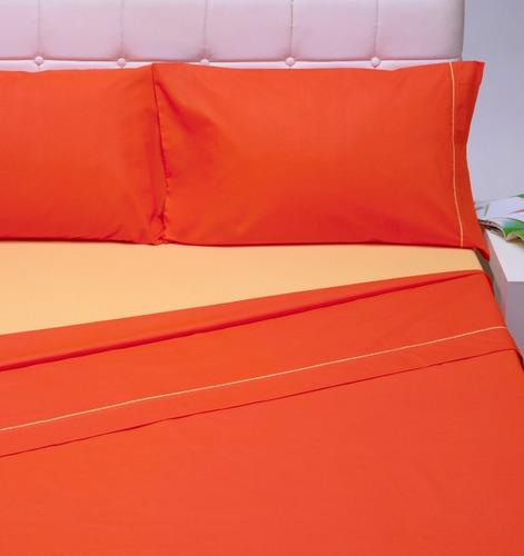 sábanas danubio 2 1/2 plaza colors 144 hilos