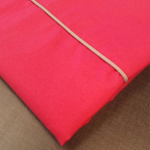 sabanas doble personalizada rosado intenso fabricantes