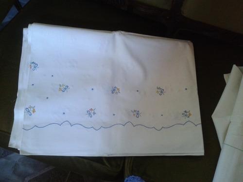 sabanas lino algodon antiguas bordadas
