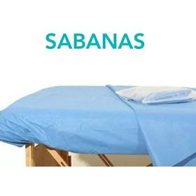 Sabanas Resortadas Desechables Para Camilla. Paq X 30 Unds