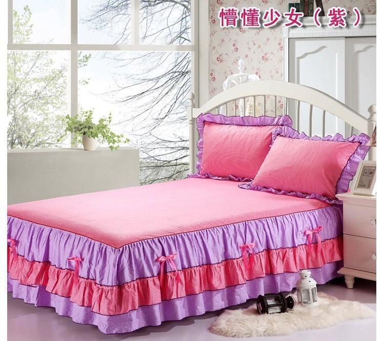 Sabanas rufles ropa de cama para ni as y princesas bs - Sabanas para ninas ...
