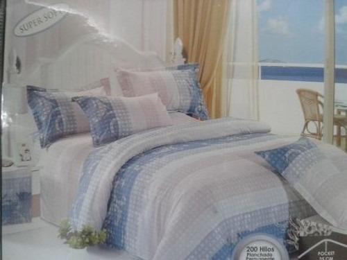 sabanas super soft premium home sencilla  200 hilos 3 piezas