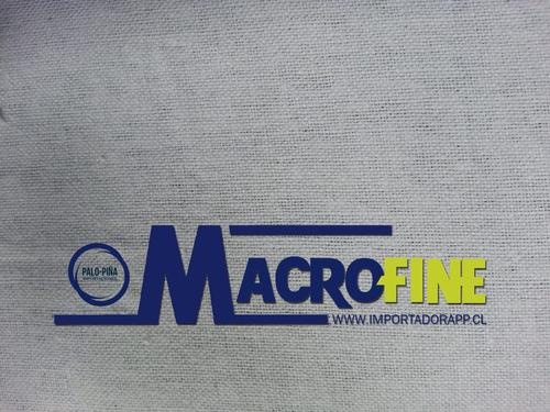 sabanilla lavable para cubrir camilla microfine / palo piña